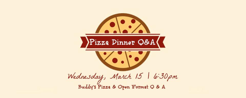 Pizza Dinner Q & A