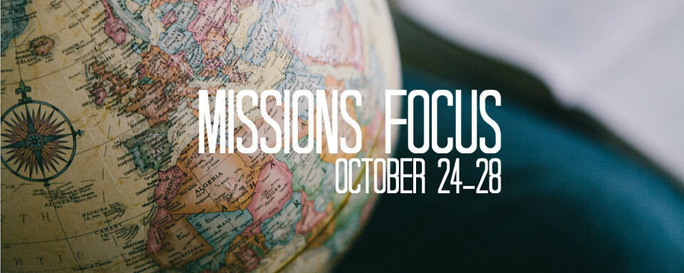 Missions Focus Week - Prayer & Share Dessert Fellowships
