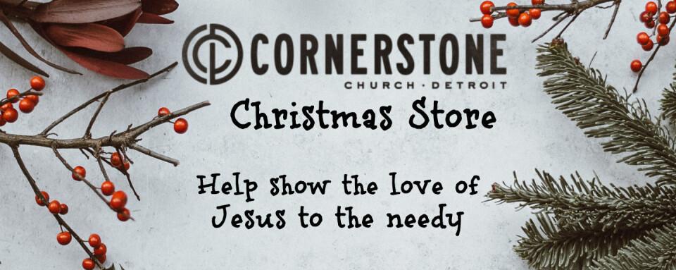 Cornerstone Detroit Christmas Store