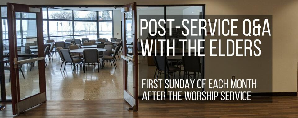 Post-Service Q&A